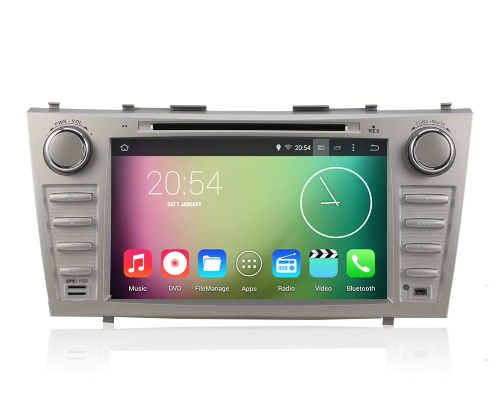 Android 4.4.4 HD 1024*600 Quad core Car DVD player For TOYOTA Aurion CAMRY 2007 2008 2009 2010 2011 GPS Navigation Radio Stereo(China (Mainland))