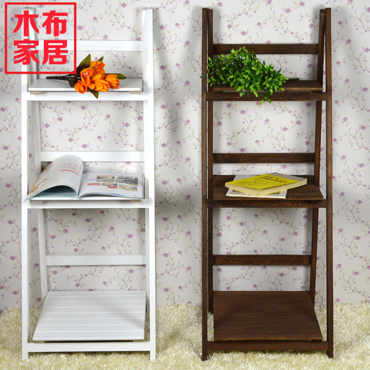 Wooden garden furniture fabric Korean aircraft finishing wood display shelves storage shelving racks Special magazines and newsp(China (Mainland))