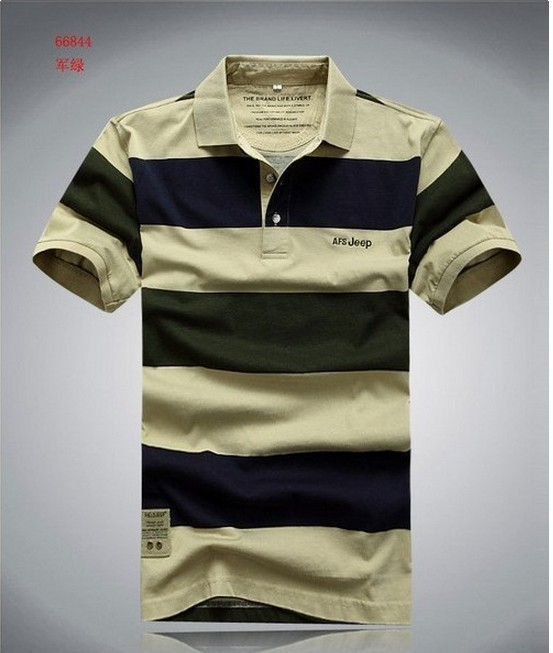 AFS JEEP 100% cotton men t shirt Men's Fashion Short Sleeve Tee T Shirts, Good Quality, Retail, Wholesale, Free Shipping(China (Mainland))