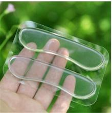 1Pairs Foot Care Feet Insoles Invisible Cushion Silicone Gel Heel Liner Shoe Pads Free Shipping(China (Mainland))
