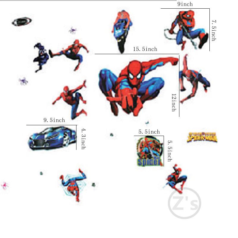 aliexpress com buy large size spider man wall sticker