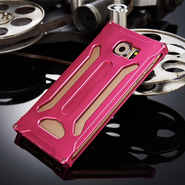 Armor Metal Cellphone Cover Case Phone Shell Aluminum Frame Protective Cover mobile PhoneCase For Fundas Samsung Galaxy S6 G9200(China (Mainland))