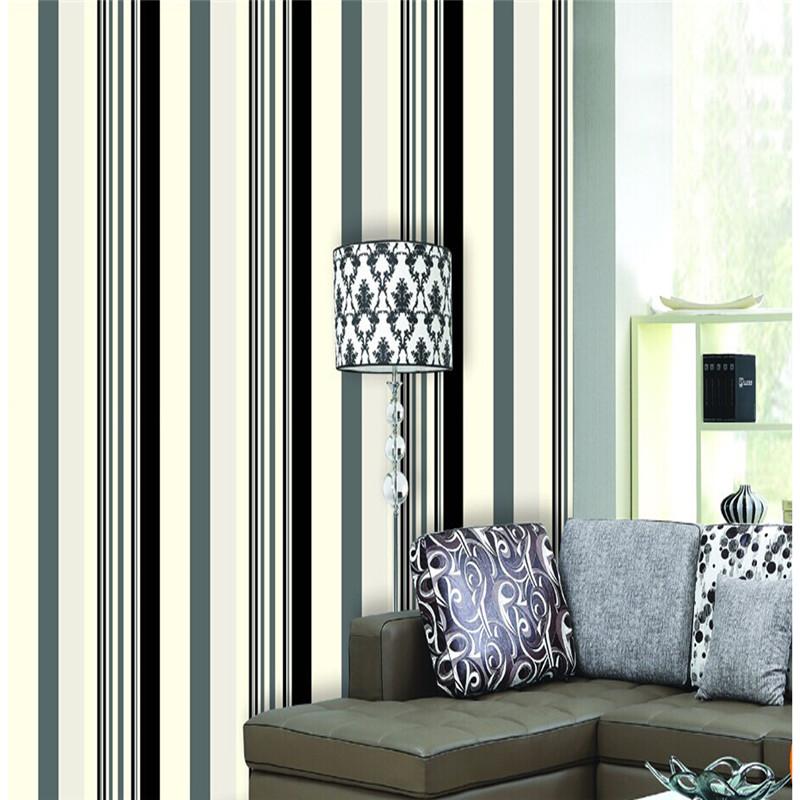 Popular Black White Striped Walls Buy Cheap Black White