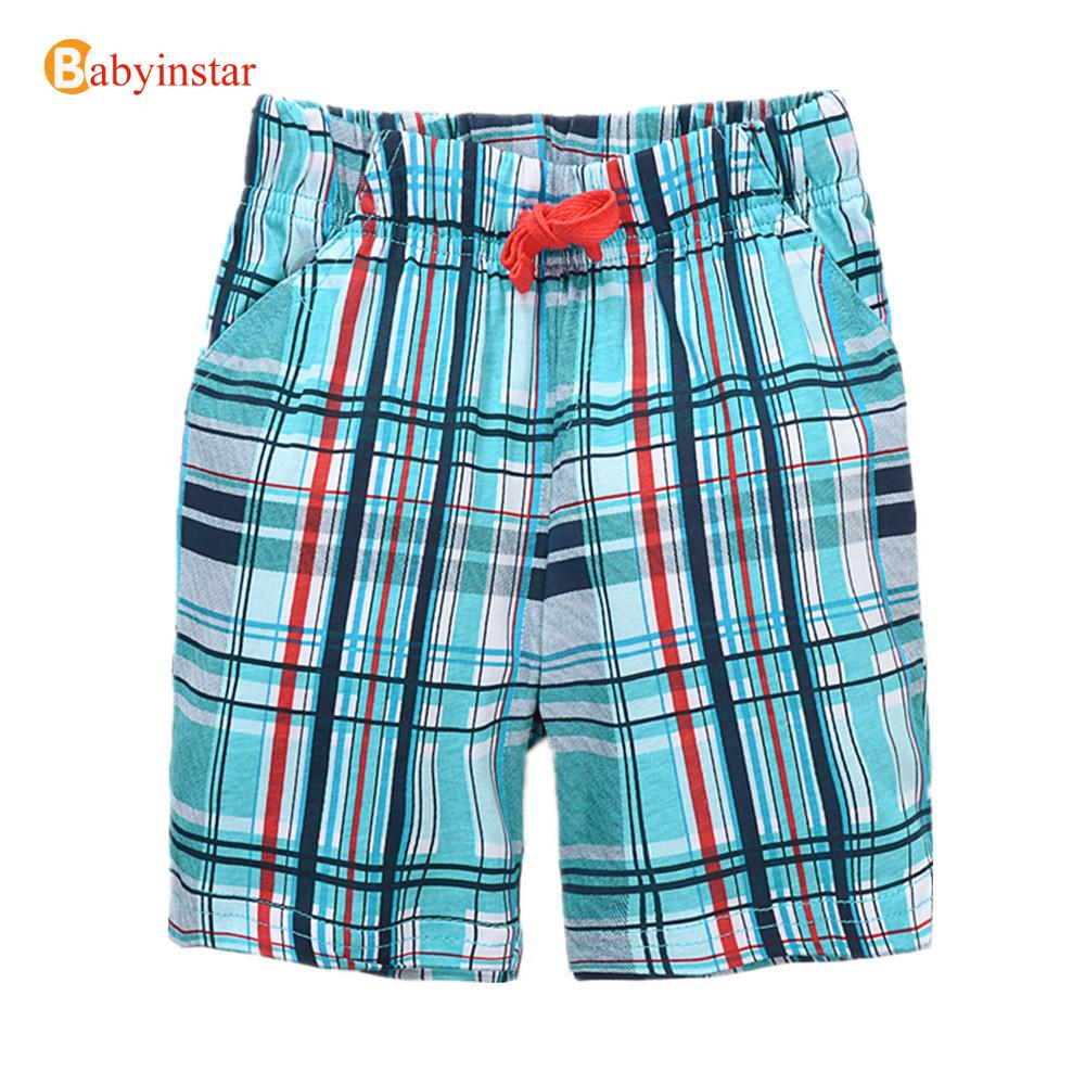 New Arrival 2016 Children Shorts Plaid Casual Kids Trousers Baby Costume Infant Vestidos Good Quality Boys Shorts(China (Mainland))