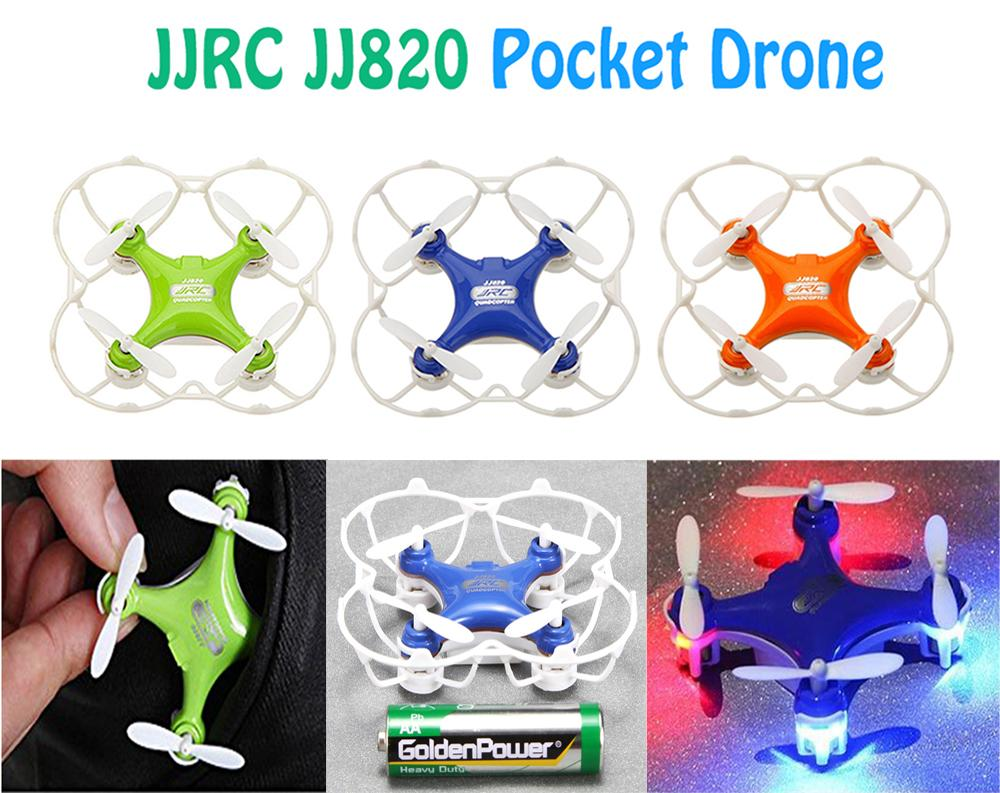 F15728/29/30 JJRC JJ820 2.4G 6 Axis Gyro Supper Mini RC Helicopter