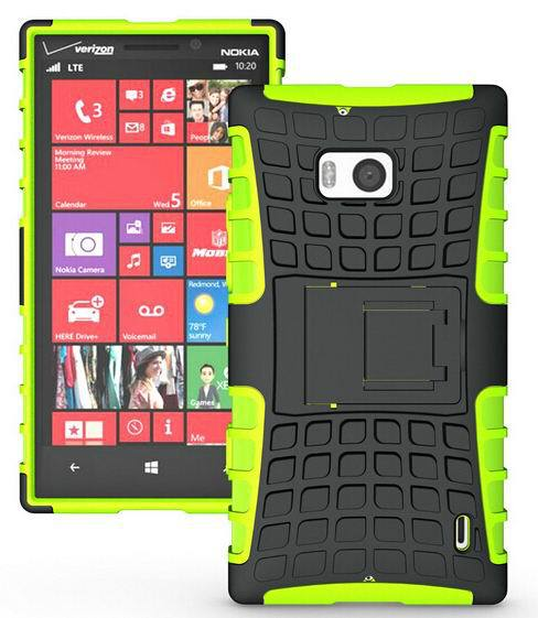 CZ For Nokia 930 Hard Silicone Armor Back Cover Combo Case Shock Proof Anti-Skid(China (Mainland))