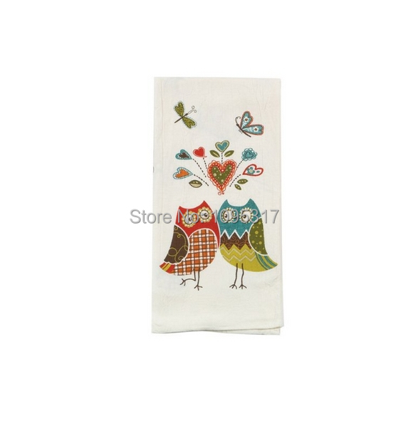 Owl wonderful kitchen flour sack towel by kay dee designs Kay dee designs kitchen towels