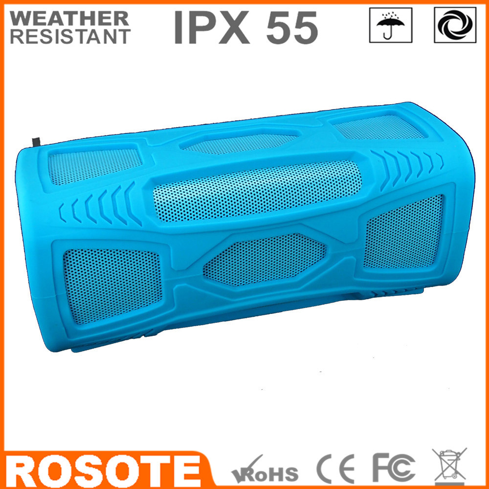 Free shipping 2015 waterproof for shower 10W BT4.0 super bass HI-FI NEW thin Bluetooth speaker(China (Mainland))