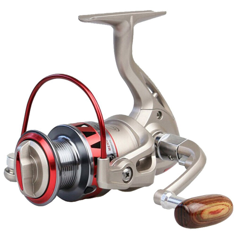 Golden DF1000-7000 10 BB 5.5:1 Metal Spinning Fishing Reel Fixed Spool Reel Coil Fish Fishing<br><br>Aliexpress