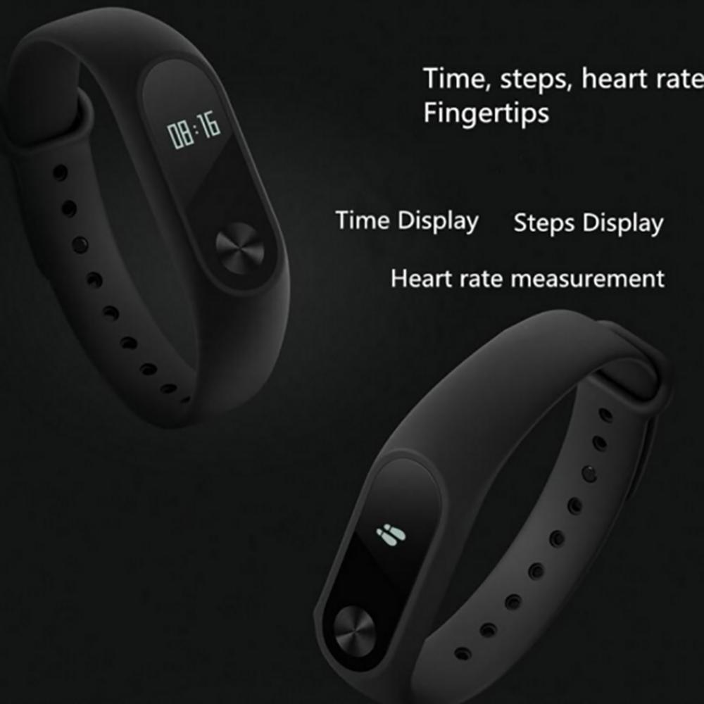 image for Original Xiaomi Xiaomi Mi Band 2 Smart Wristband Bracelet All Compatib