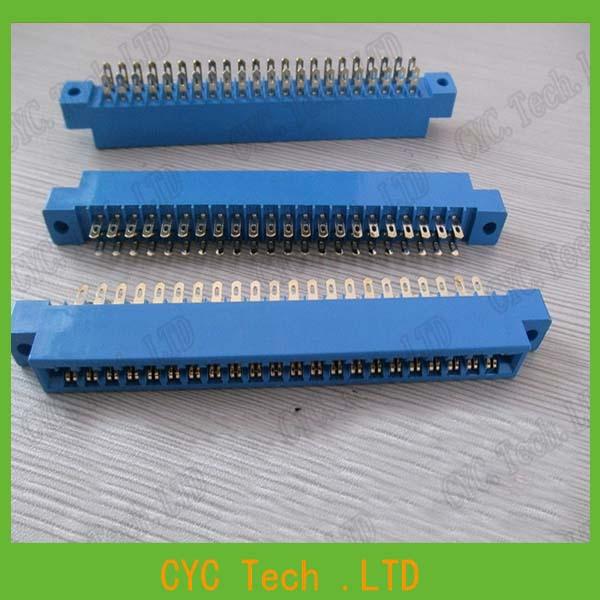 5pcs/Lot 805 Card Edge Connector 3.96mm Pitch 2x22 Row 44 Pin PCB Slot Solder Socket SP44 Dip Board Type(China (Mainland))