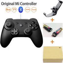 100% Оригинал Xiaomi Mi Беспроводная Связь Bluetooth Игровой Контроллер Ручка Дистанционного Геймпад Для Smart TV PC + 2 батареи + розничной коробке + держатель(China (Mainland))