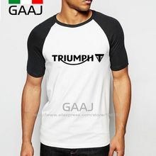 Buy Triumph Man T-Shirt Raglan Sleeve High 3D Brand New Logo Streetwear T Shirt Men Funny Skate O Neck Cotton Printed Mens for $12.67 in AliExpress store