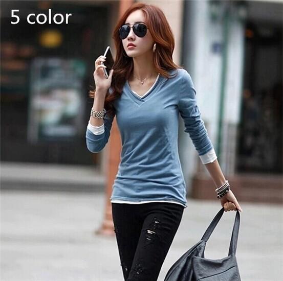 Женская футболка Women long