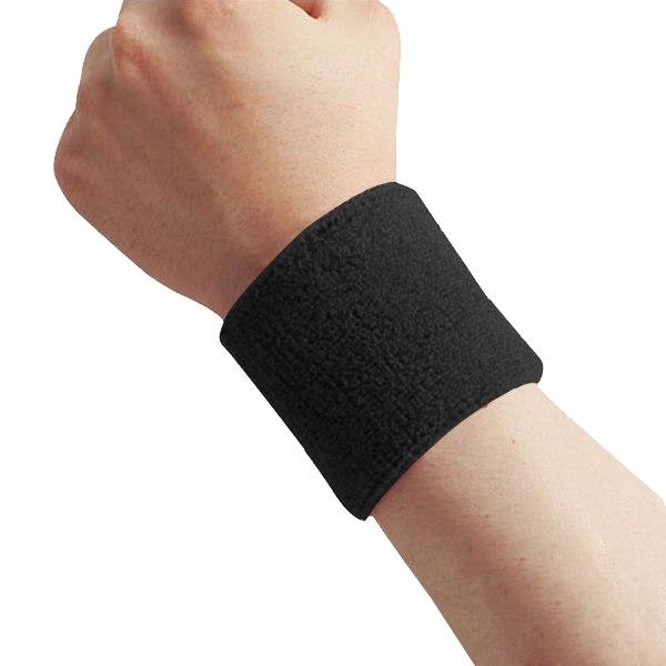 1Pcs Cotton Sweat Sports Basketball Wristband Sweatband Wrist Wraps Sweat Band Brace(China (Mainland))