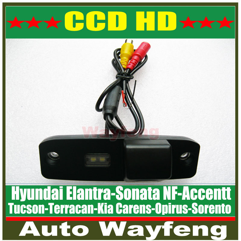 Factory Selling car rear view backup camera rearview parking Camera for KIA Carens Oprius Sorento Borrego Kia ceed HD CCD Camera(China (Mainland))