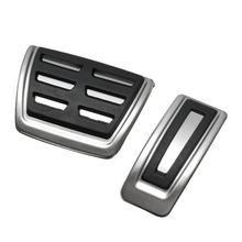 Buy 2Pcs/Set Car Clutch Brake Accelerator Pedal Footrest Pad Covers Seat /Skoda /Fabia /VW /Polo 9N 6R /Bora /Golf MK4 IV for $8.59 in AliExpress store