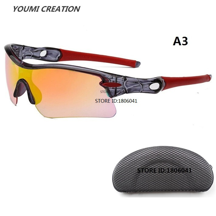 With Case Fashion Hot New Arrival 5181 Outdoor Oak Sports Sunglasses for Men Okl Cycling Riding Oculos Gafas De Sol Masculino(China (Mainland))
