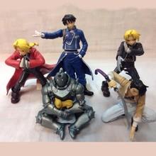Animación garaje Fullmetal Alchemist Alphonse Roy Mustang Edward acción muñecos de PVC figura modelos niños regalos del cabrito