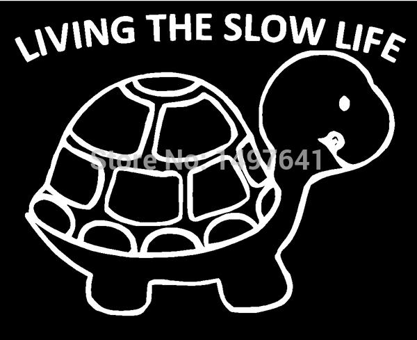 40 pcs/lot Slow Life Sticker Funny JDM Dsm Illest Diesel Car Window Truck Bumper Laptop Art Wall Joke Vinyl Decal 8 Colors(China (Mainland))