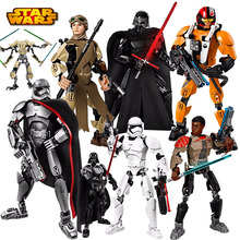 KSZ Star Wars Minifigures Darth Vader General Grievous Clone Commander Cody Figure toys building blocks compatible axi