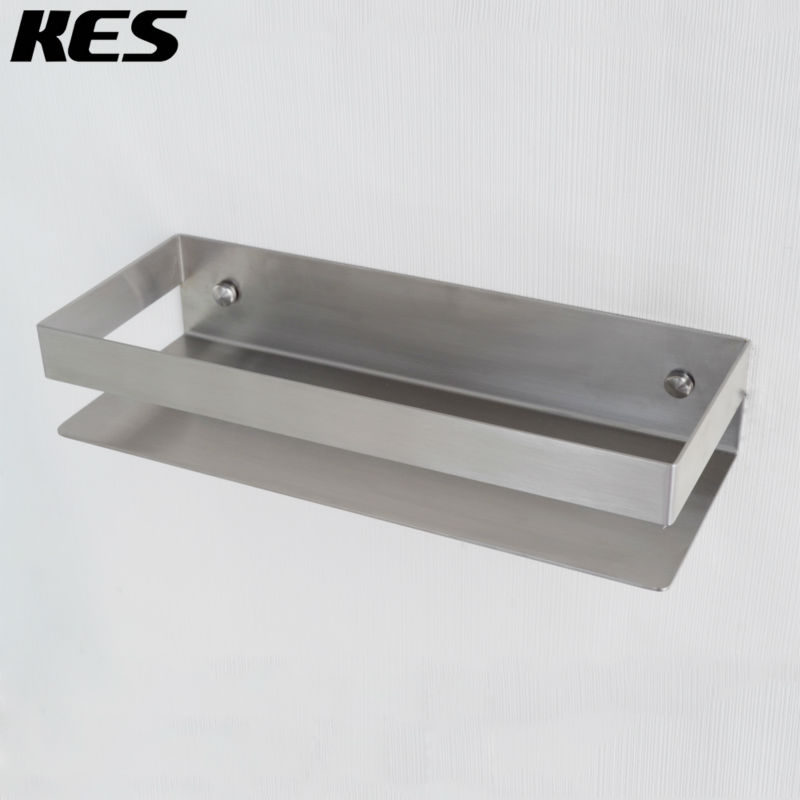 Kes Solid Sus 304 Stainless Steel Shower Caddy Bath Basket Storage Shelf Hanging Organizer
