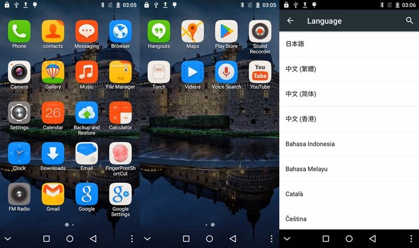 Original THL T7 Mobile Cell Phone Android 5.1 MTK6753 Octa Core 3GB RAM 16GB ROM 5.5 Inch HD 4800mAh Fingerprint