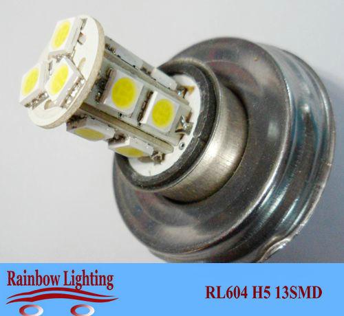 12V H5 () 13SMD 5050 Fog Lights Head lights Car led light source factory price hot selling RL604 - 6v 12v 24v Auto LED Light Bulbs store