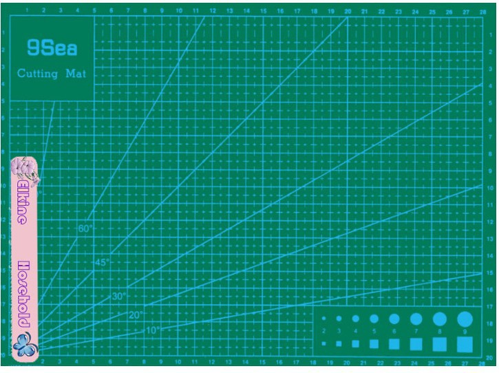 Free shipping !High quality PVC cutting mat patchwork tools handmade Diy accessory quilt plate/Mediated blades/Cut cardboard(China (Mainland))