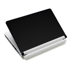 Black Carbon Fibre Vinyl Laptop Skin Notebook PC Sticker Cover Decal High Quality 40*29cm Laptop Skin Cover For 17inch Laptop PC