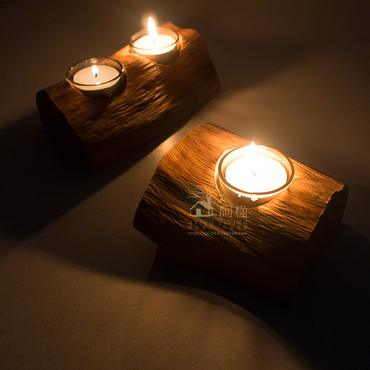 Popular Wooden Candle Holder-Buy Cheap Wooden Candle Holder lots from ...