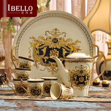 European style Coffee Sets Tea Sets teapot cup tea tray Suit afternoon tea cup ceramic coffee