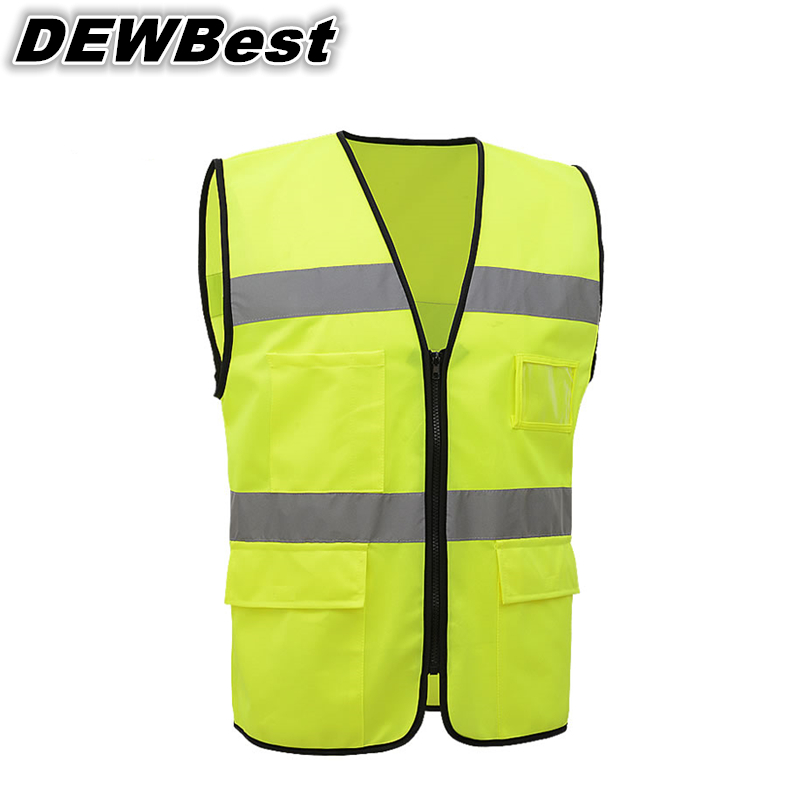 DEWBest Free shipping hot selling safety reflective jacket and Cheap Reflective Vest work vest(China (Mainland))