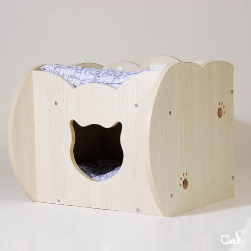 Free Shipping High Quality Wooden Cat Furniture Cat House Cat Cage In Carriers Strollers From