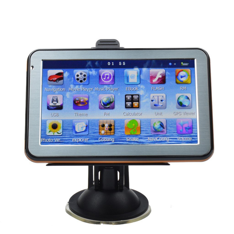 "5""HD Car GPS Navigator FM Touch Screen Multimedia Player WinCE 6.0 with Lifetime Free Maps(China (Mainland))"