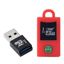 Usb 3.0 mini leitor de cartão sd-alta velocidade de 2 tb para micro sd/sdxc/sdhc/sdr12/sdr25/sdr50/ddr50/sdr104 com tampa à prova de poeira caso(China (Mainland))