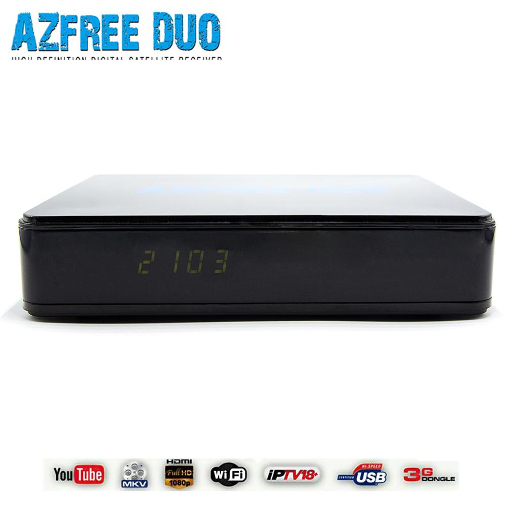2016 New satellite receiver dvb-s2 azfree duo for Brazil Chile Colomiba(China (Mainland))