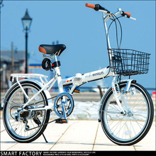 20 Inch Variable Speed Aluminum Alloy Folding Bike with the Rear and the Front Wheel V Brake(China (Mainland))