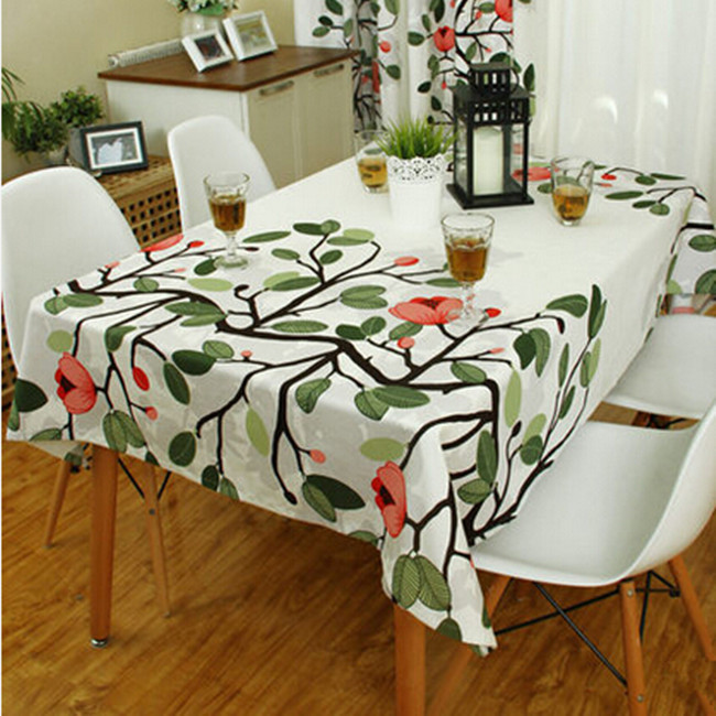 Table cloth fabric fashion rustic round table square table cloth table runner fashion fabric(China (Mainland))