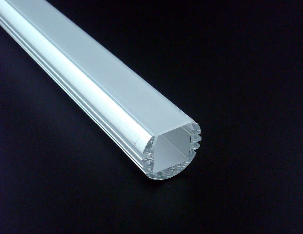 10x1m free shipping 1818d aluminum profile with frosted for House key cover with light