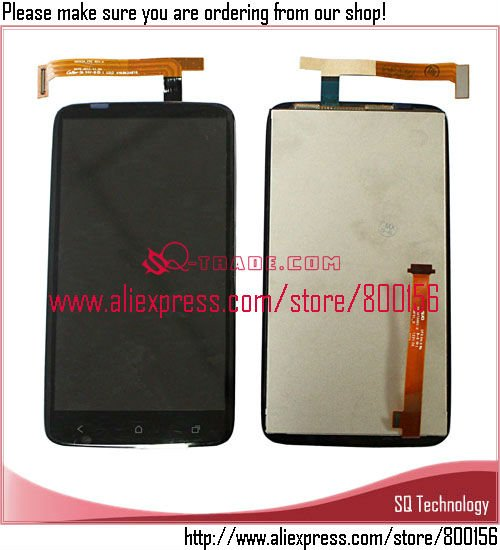 LCD Display + Touch Screen Digitizer Assembly for HTC One X/XT S720e S720t G23 for Sony Version free shipping(China (Mainland))