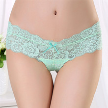 Buy 2017 Lace Women Sexy Panties Low Waist Hollow Transparent Panties Underwear Seamless G String Thongs for $1.43 in AliExpress store