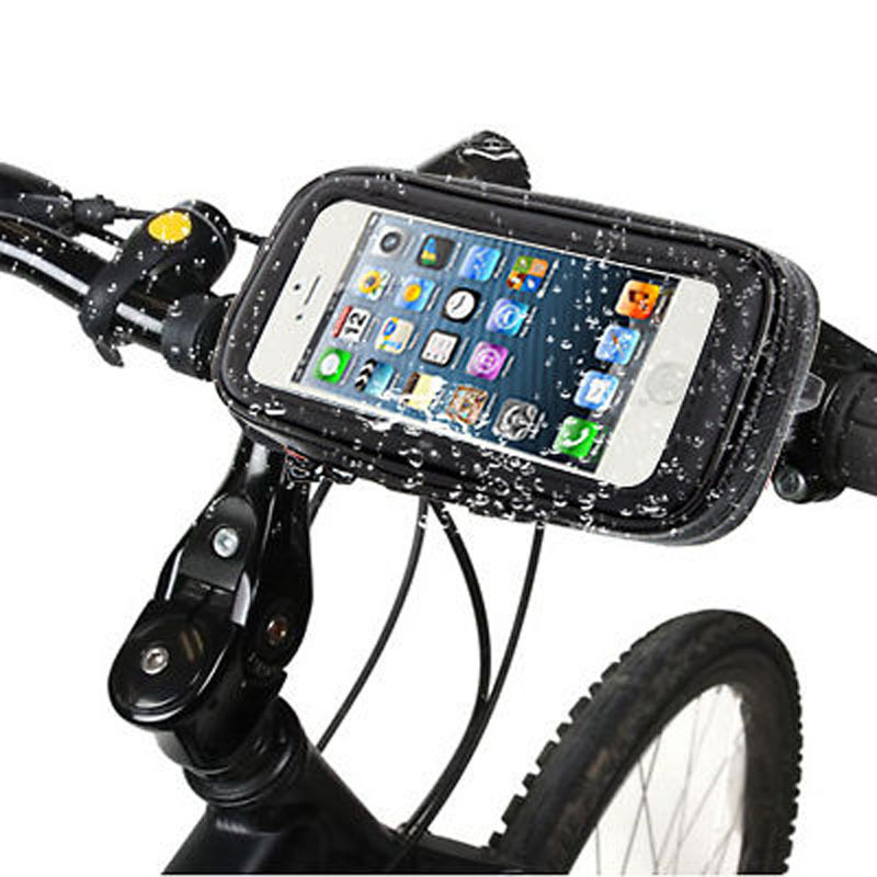 iMeaning Universal Bicycle Bike Mount Holder Waterproof For Mobile Phone Pouch Handlebar Mount Holder Case For iPhone Samsung(China (Mainland))