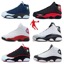 Free shipping 2015  cheap china jordan 13 colors sneakers  men white black basketball shoes  sneakers size 8 - 13(China (Mainland))