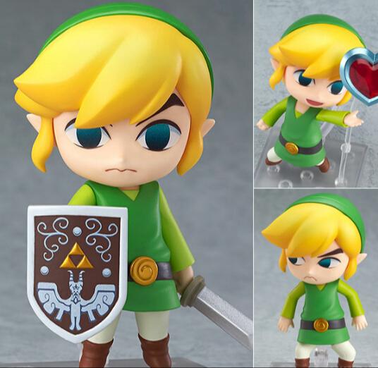 The Legend of Zelda Link Nendoroid Game Legend of Zelda PVC Action Figure 10CM Q Ver
