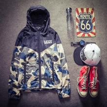 2015 Autumn Winter New Men Jacket Casual Sports Hooded Outerwear Outdoors Camouflage Windbreaker Mens Jackets and Coats AW01(China (Mainland))