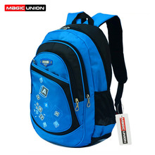 MAGIC UNION High Quality Large School Bags Boys Girls Children Backpacks Primary Students Backpacks Waterpfoof School Bag(China (Mainland))