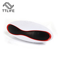 TTLIFE Rugby Shape Sports Portable Bluetooth Speaker FM Radio Waterproof Mini Column with Bicycle Bell iFree