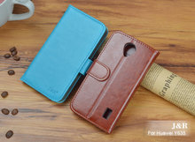 J&R Brand For Huawei Y635-CL00 / Y635-TL00 Phone Case For Huawei Ascend Y635 Original Flip PU Leather Wallet Cover Phone Bags