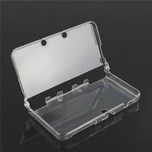 Transparent  Separate Hard Crystal Clear Cover Protective Shell Back Case For New Nintendo 3DS XL/3DS LL